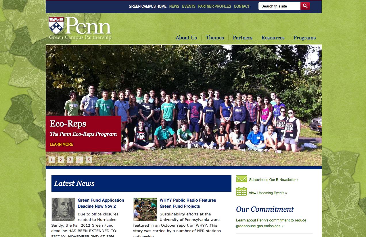 Penn Green Campus Partnership