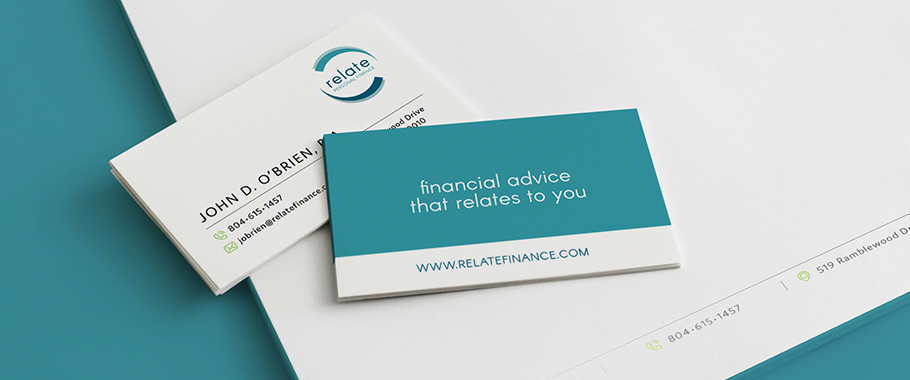 Relate Personal Finance Branding