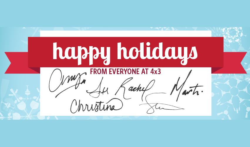 Happy Holidays from 4x3