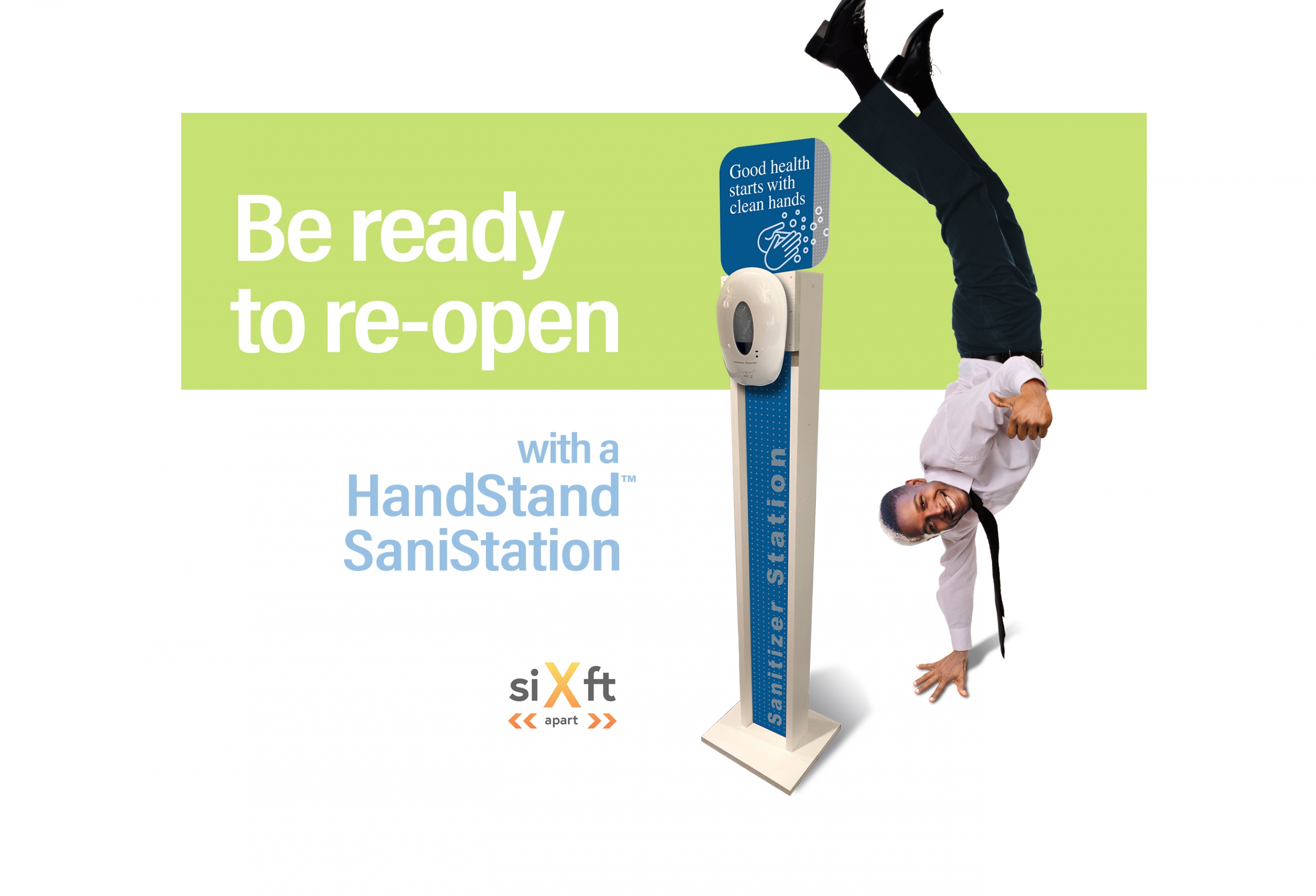 HandStand SaniStation model