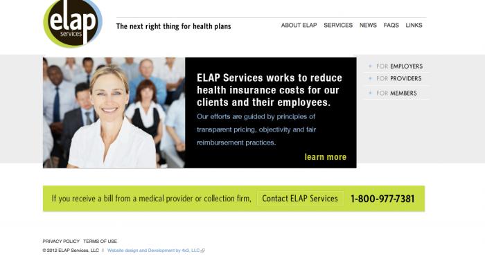 ELAP Branding and Website