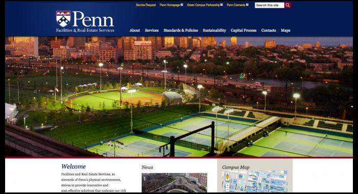 UPenn Website Launch