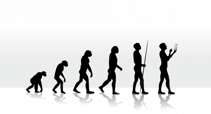 Evolution with iPad