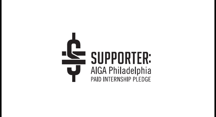 AIGA Philadelphia Paid Internship Pledge