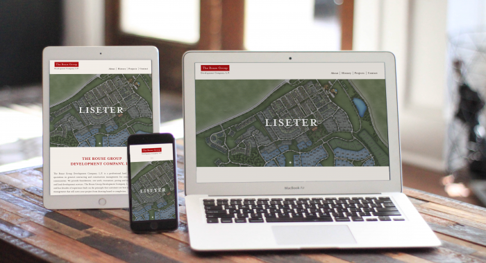 The Rouse Group Development Company Responsive Website