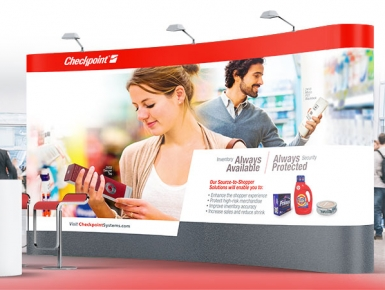 Checkpoint Systems Trade Show Design