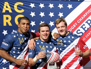 American Collegiate Rugby Championship Bowl Series Tournament Branding