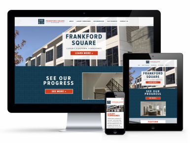 Frankford Square Apartment Building Mock-up