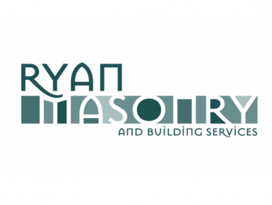logo designed by 4x3, LLC for Ryan Masonry