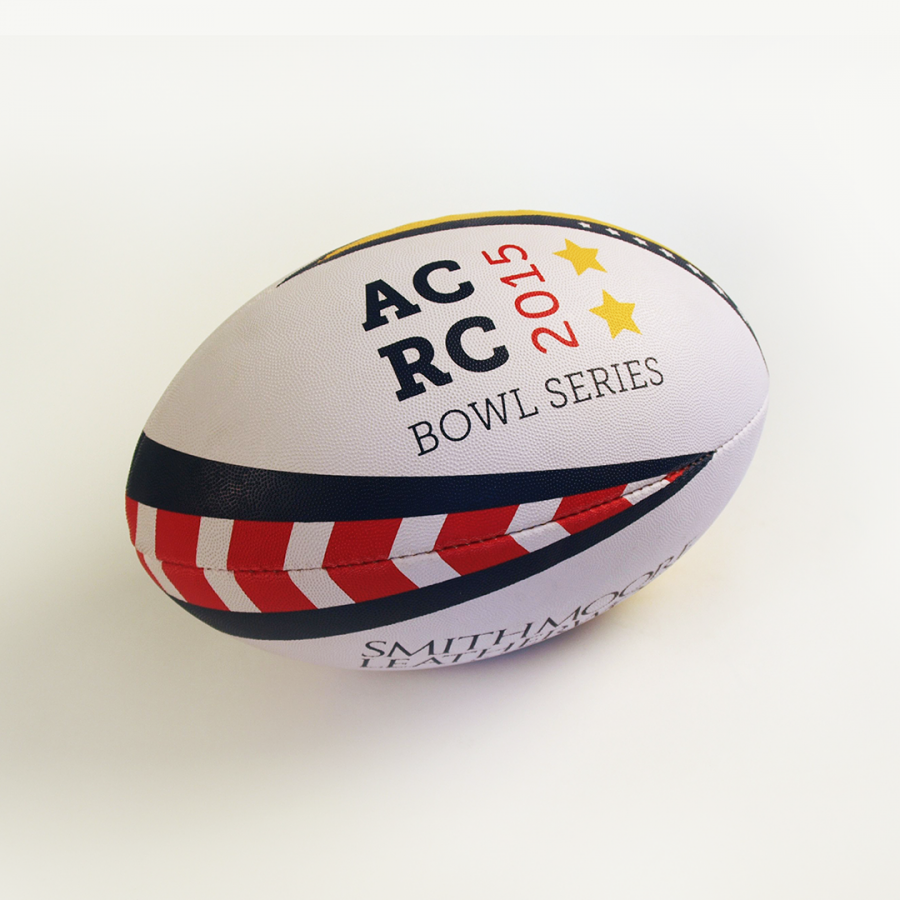 branded rugby ball for 2015 tournament