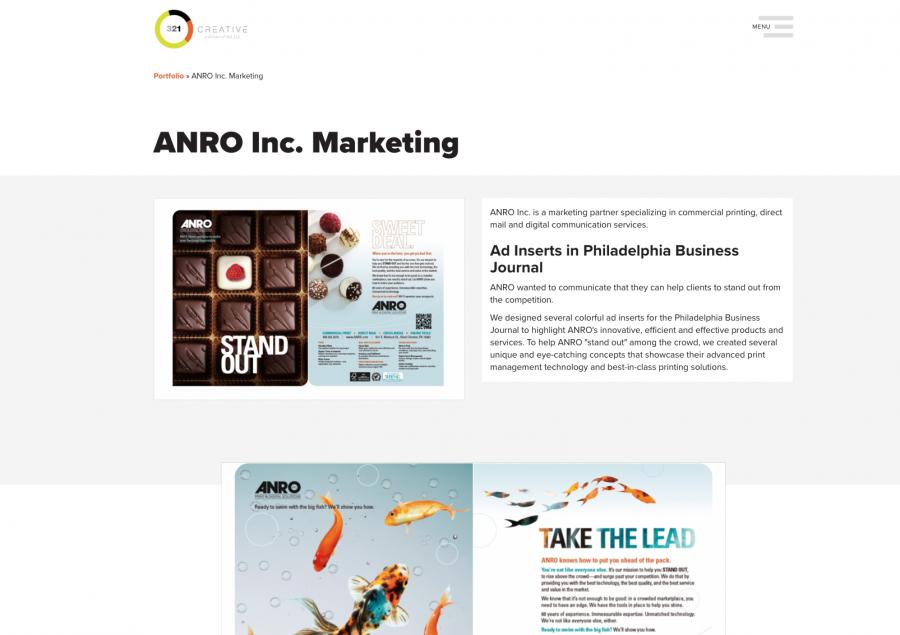 Website Portfolio Page
