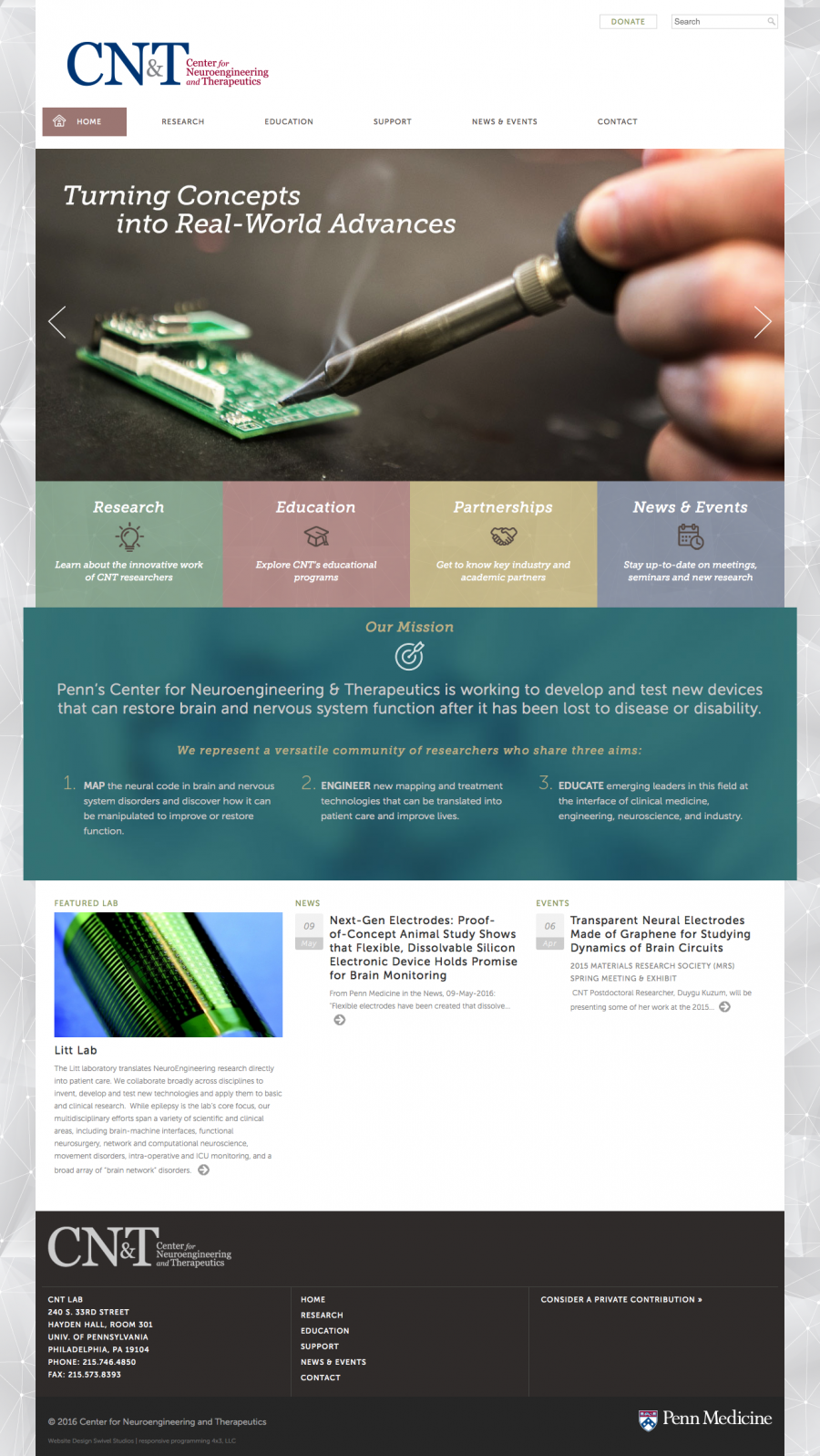 Center for Neuroengineering and Therapeutics Home Page