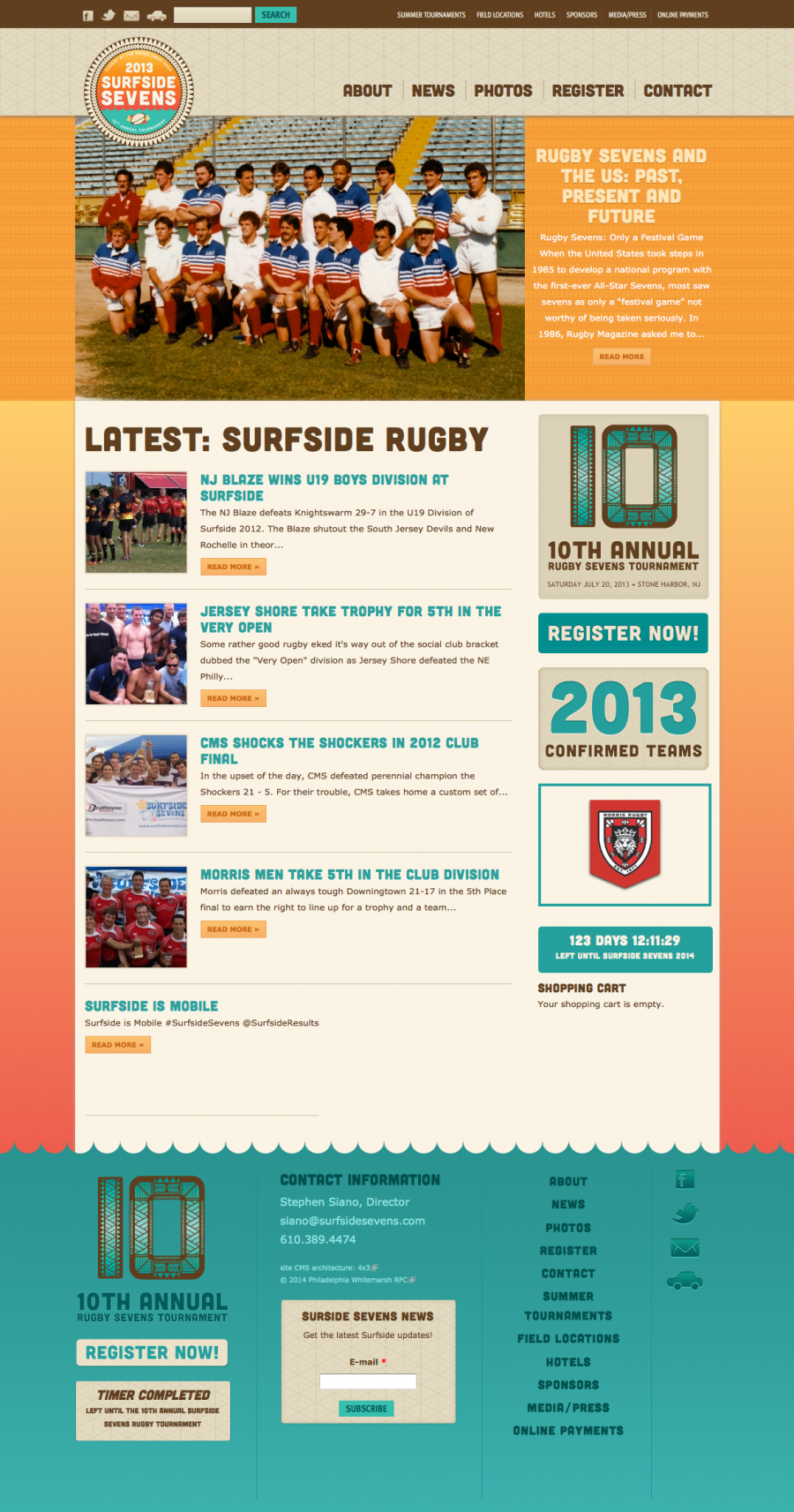 Surfside Sevens grew to 84 teams because of 4x3