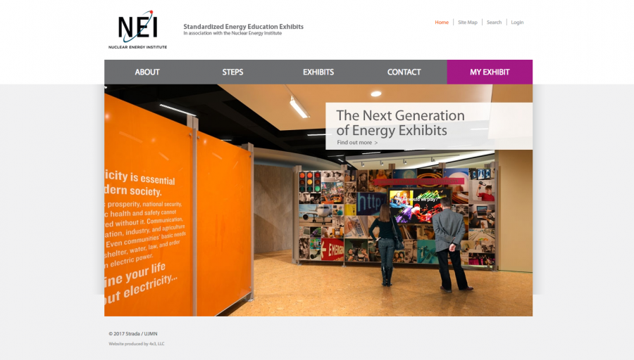Standardized Energy Education Exhibits project website