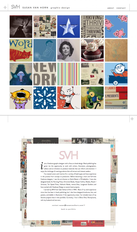 Susan Van Horn Website