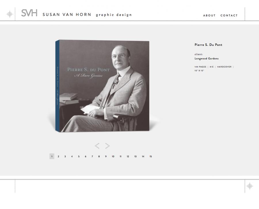 Pierre S. Du Pont Print/Book Design