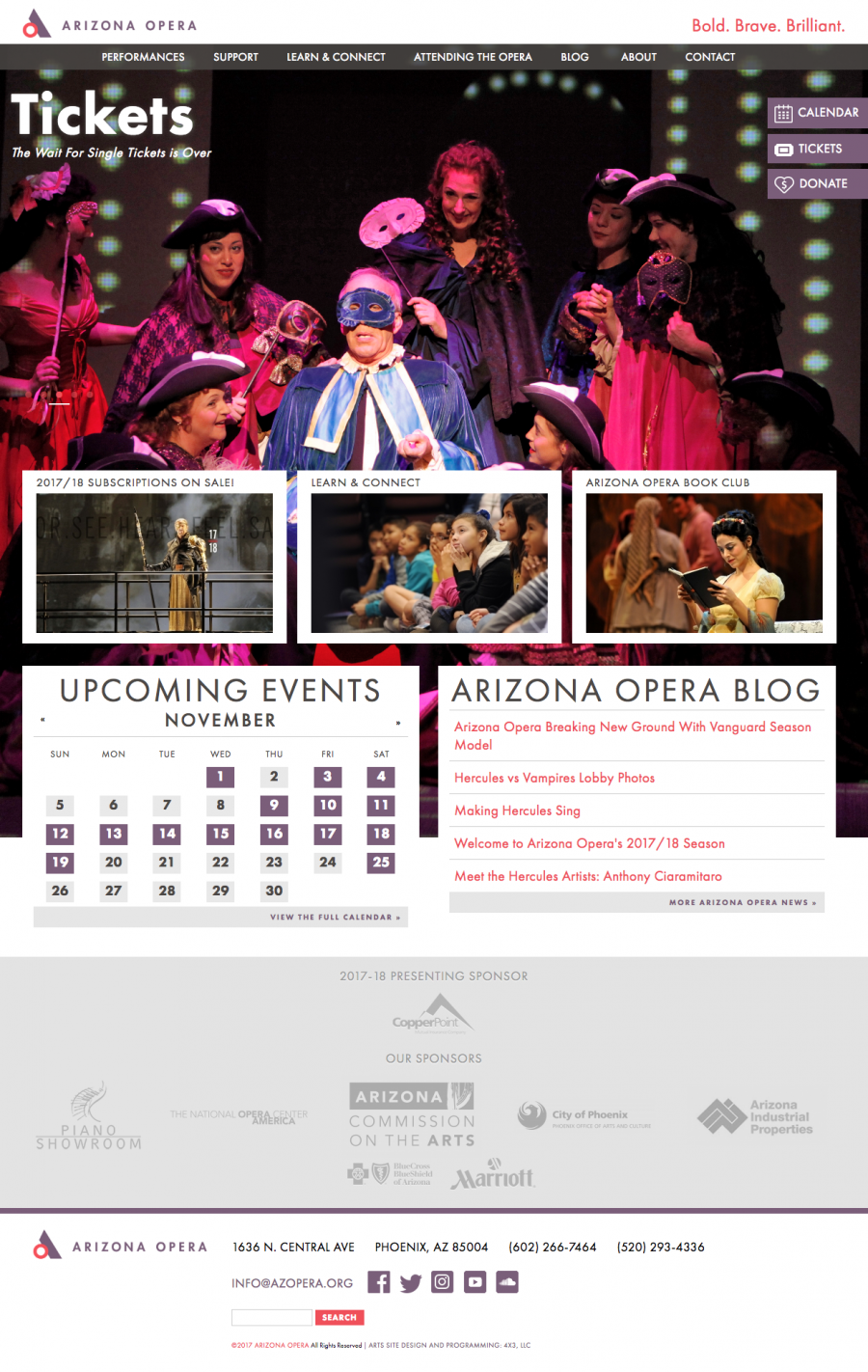 Arizona Opera Homepage
