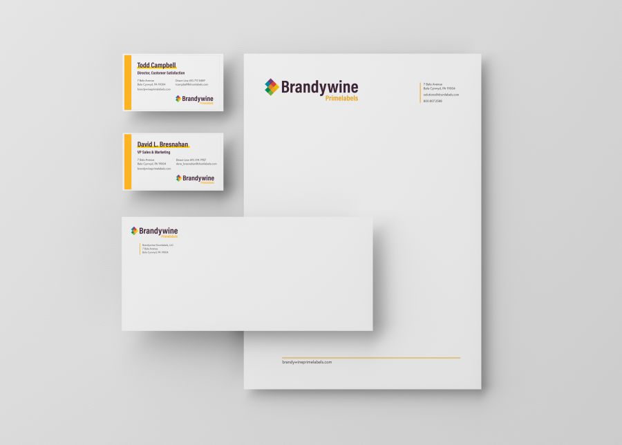 Brandywine Primelabels Stationery