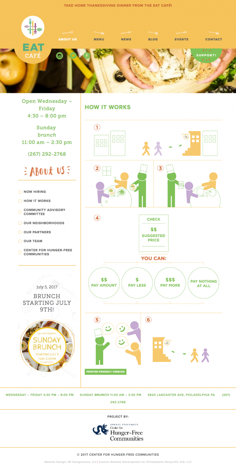 Educational Infographic about restaurant payment system