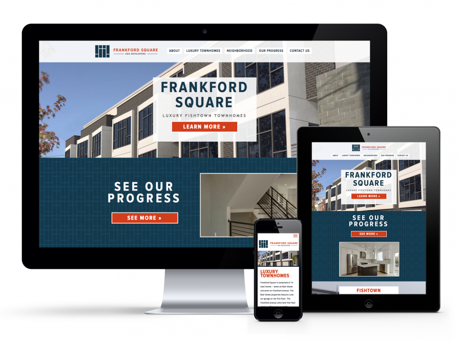 Frankford Square Responsive Website
