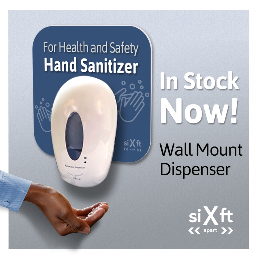 Wall Mount Dispensers in stock now