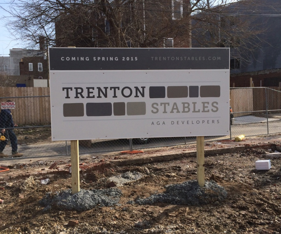 Print Design for Trenton Stables Apartments