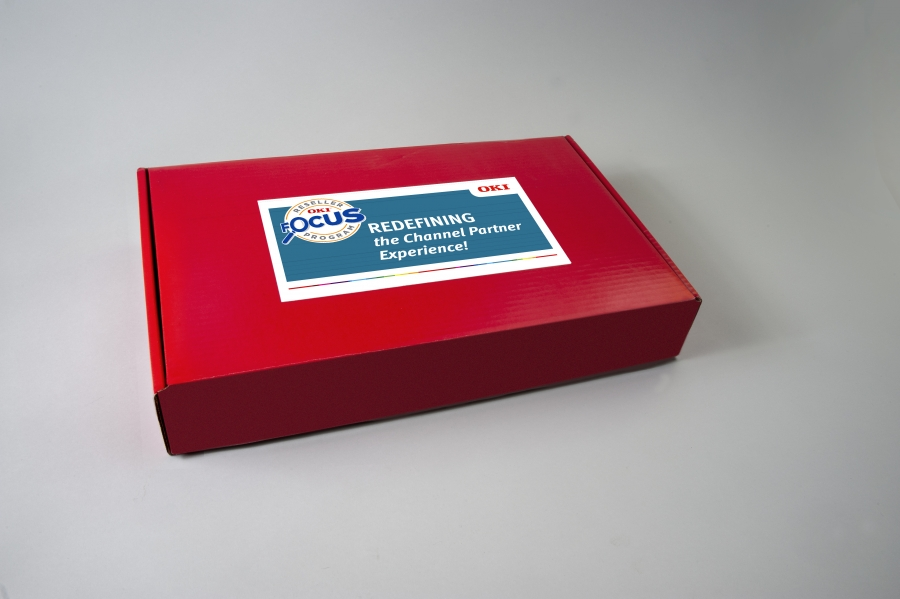 Promotion in a box for OKI's Focus Reseller Program