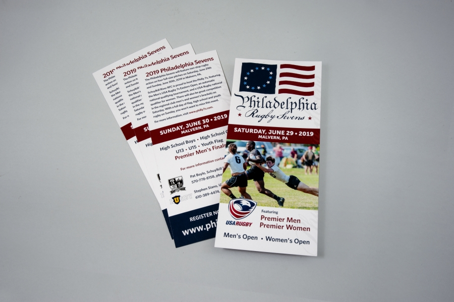 Philly 7s Rugby Tournament: Promo Cards