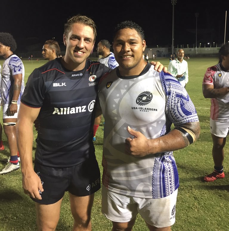 a nationally-based rugby team consisting of high performance athletes with island heritage residing in America