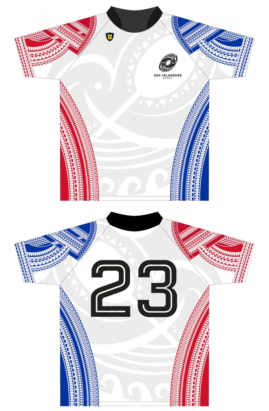 USA Islanders Rugby Team Jerseys