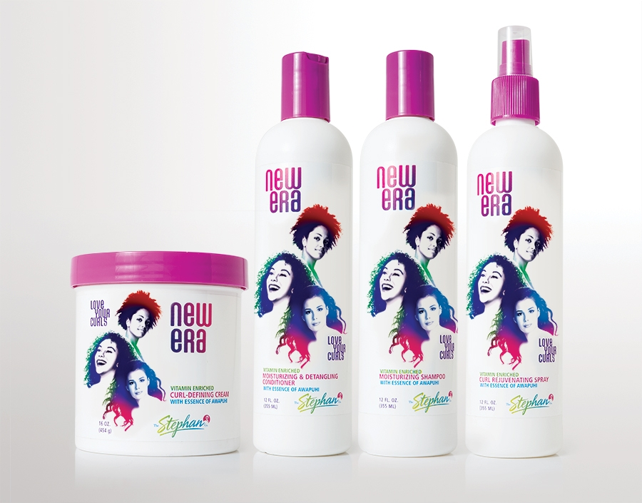a new line of hair care products
