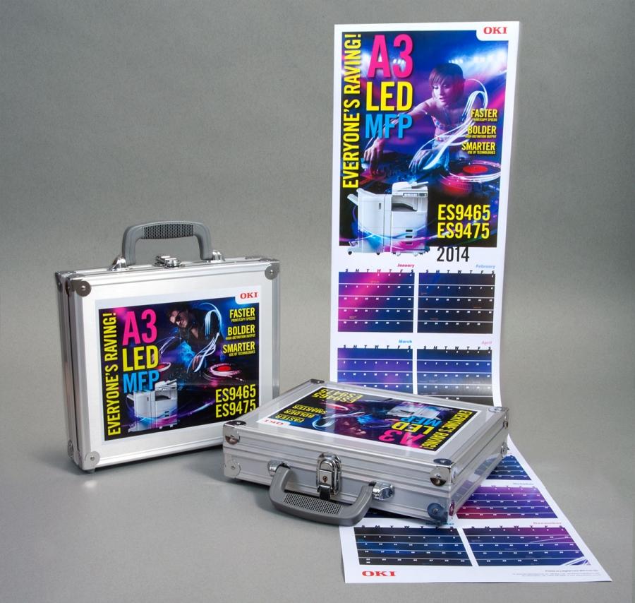 OKI Product Launch, Self Promotion Kits