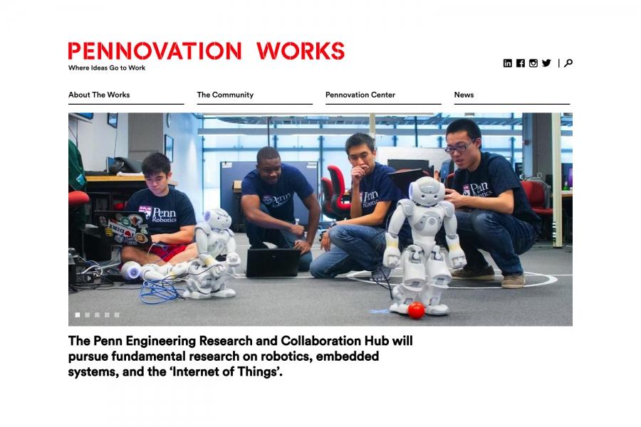 Pennovation Works: home robots