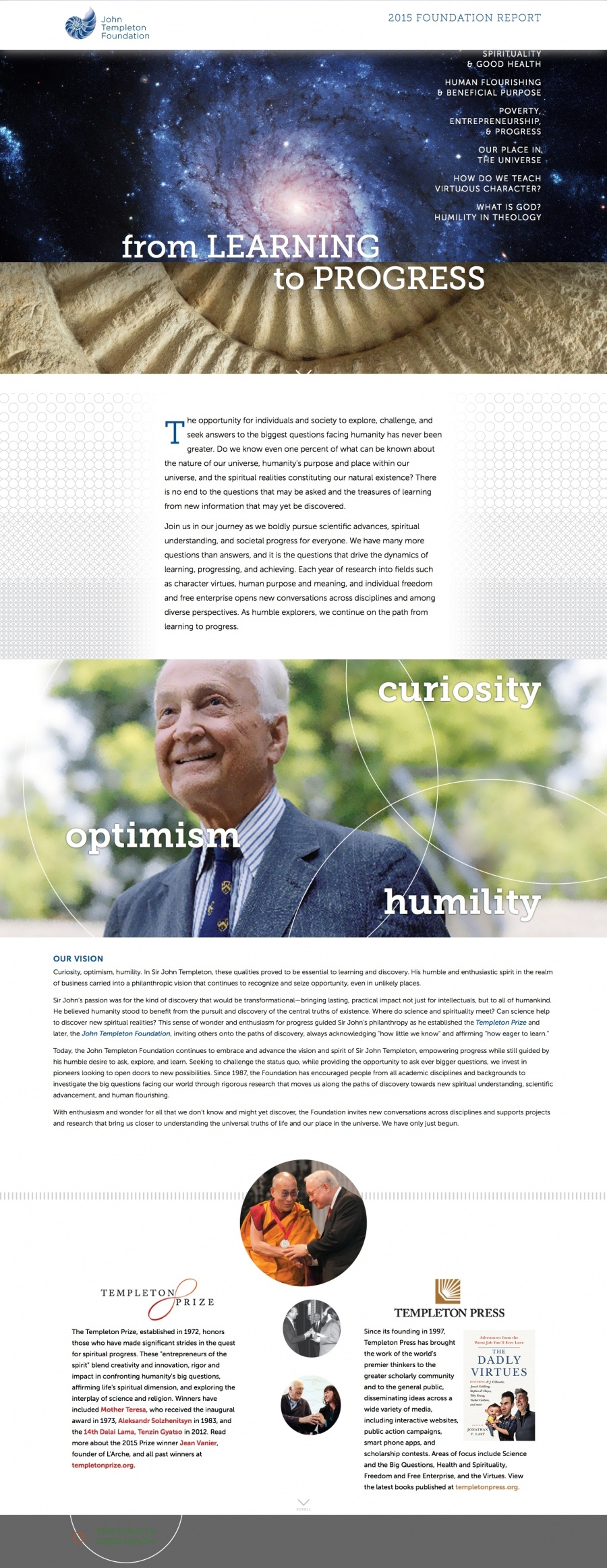 Templeton Foundation Annual Report
