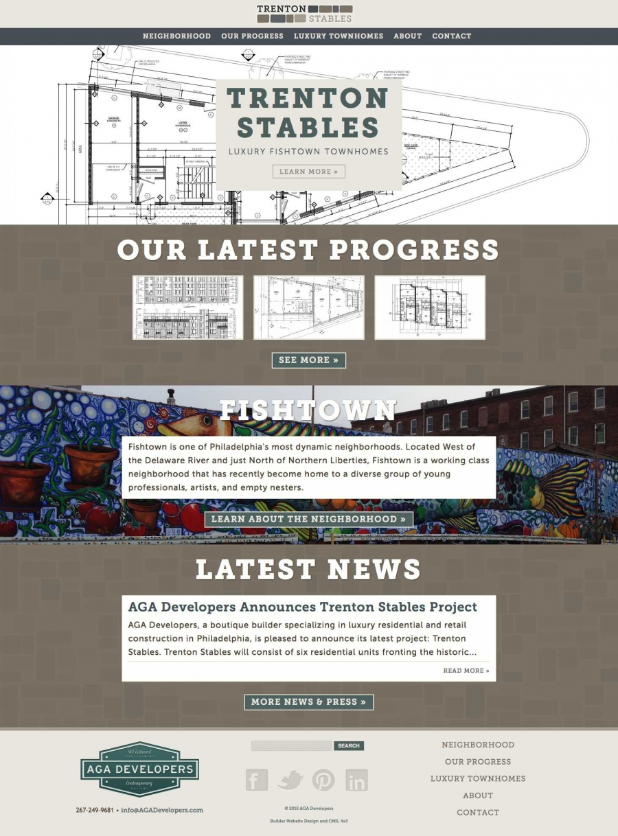 Trenton Stables Website Design