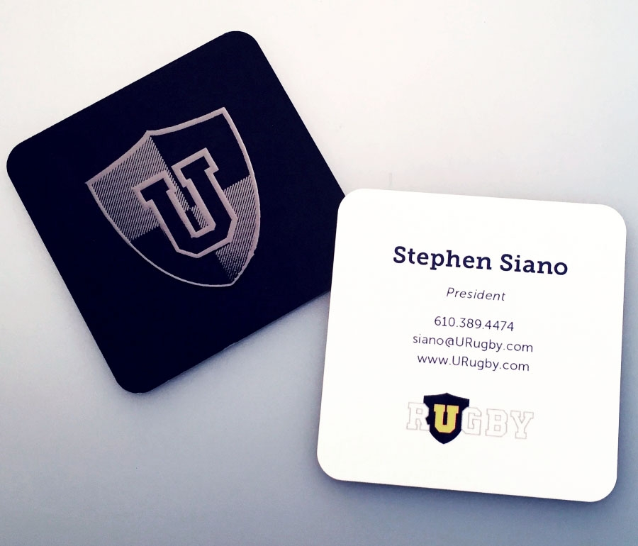 Urugby Business Cards