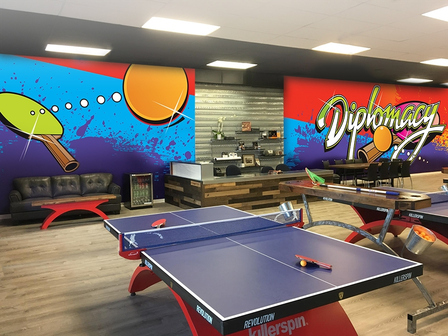 Diplomacy Ping Pong Wall Graphics