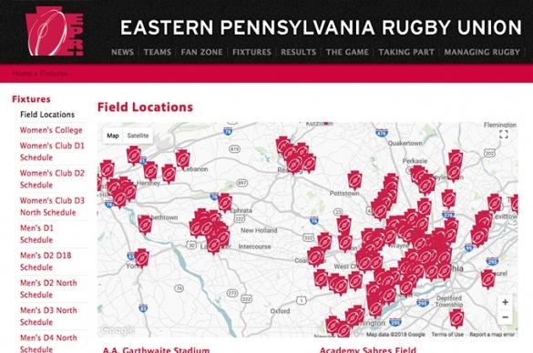 EPRU Field Map