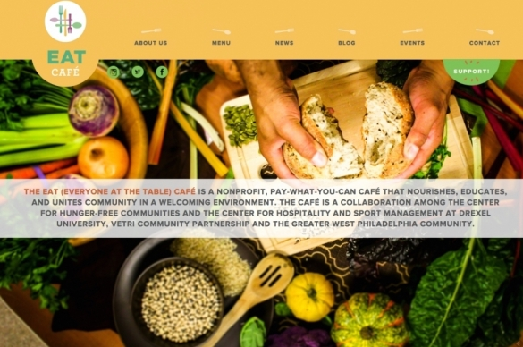 a non-profit restaurant run by Drexal Univeristy