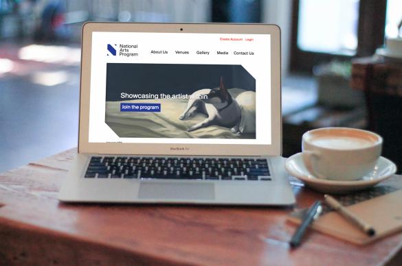 National Arts Program Foundation Responsive Website