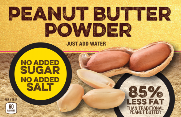 """hired by Macadoodle to design the product packaging for """"Peanut Wonder"""""""
