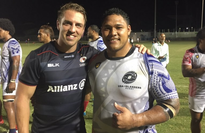 Saracens and USA Islanders