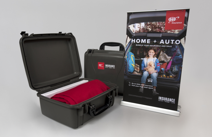 AAA Insurance Tabletop Trade Show Kit