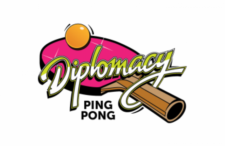 Diplomacy Ping Pong Logos and Branding designed by 4x3, LLC
