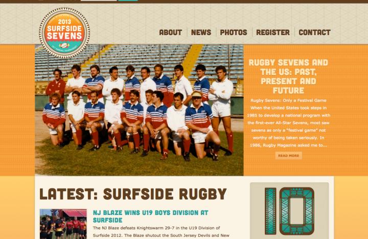 10th Anniversary Website, custom web design